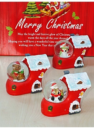 Kitchen Love Noel Baba Sihirli Küre-Assorti Renkli